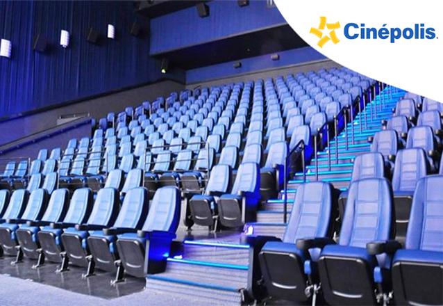 OFERTA RELÂMPAGO! 01 Ingresso Inteira Cinema Sala Tradicional 2D - valendo de segunda a quinta de R$22 por R$9,90