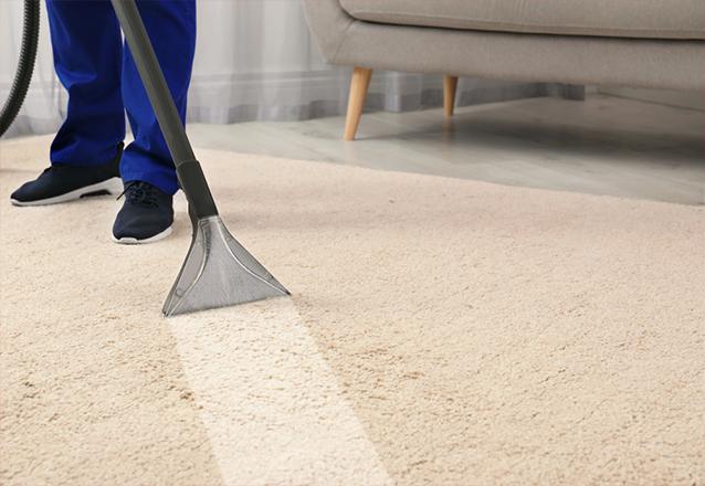 Lavagem (à seco) e higienização de tapete de até 3M² de R$75 por apenas R$35,90