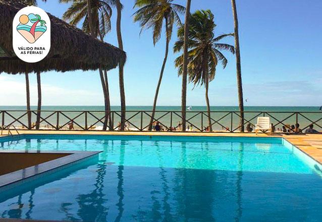 O Melhor de Cumbuco nas férias para você! 2 diárias (todos os dias) em apartamento para casal com criança de até 6 anos de R$500 por apenas R$389,90