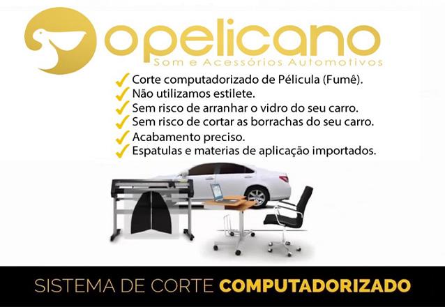 Película Fumê Térmica para Veículos Pequenos + até 6 anos de garantia por apenas R$1.299,90 na unidade OPelicano - RioMar