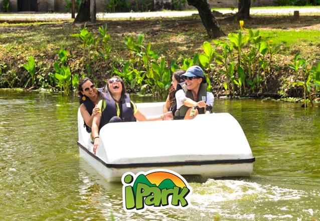 Aproveite suas Férias no Maior Parque de Aventura do Nordeste! 1 ingresso de entrada + 1 pulseira COMBO 3 atividades por R$39