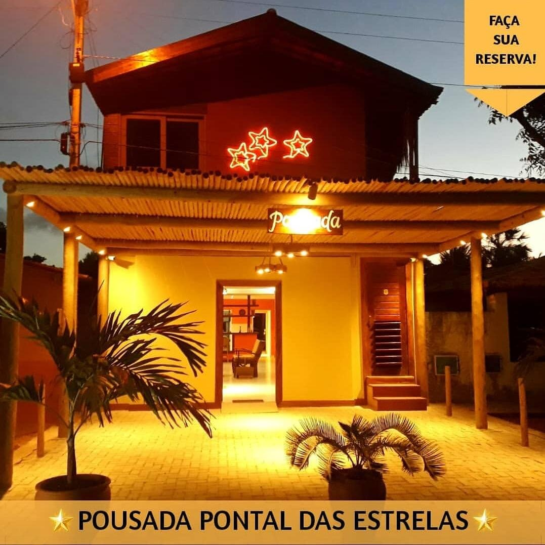 Carnaval em Fortim! 5 Diárias (22 a 27 de fevereiro) para 2 Adultos + Criança de até 03 anos + Café da manhã de R$2.000 por R$1.775 na Pousada Pontal das Estrelas