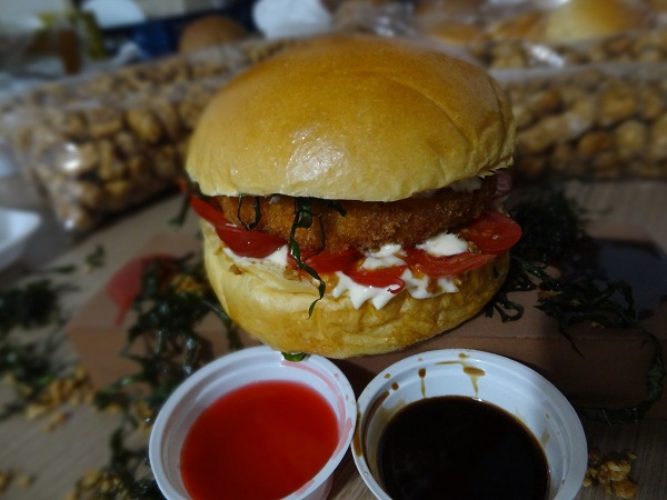 Burger de Salmão de R$24,90 por apenas R$16,90