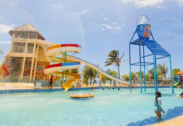 Diversão garantida! 2 Passaportes para o Parque Aquático + 1 Petisco de R$158 por R$59,90