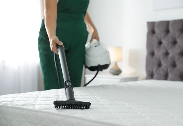 Higienização de cama ou colchão solteiro de R$80 por R$36,80