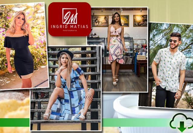 Seu book perfeito com a Ingrid Matias Photografia! Ensaio Fotográfico Externo (clique ilimitado durante 2 horas) de R$250,00 por R$99,90