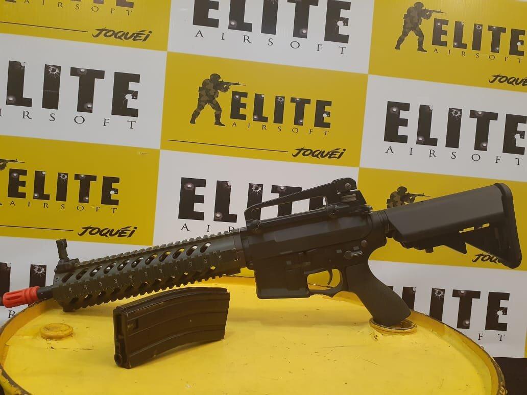 Diversão e Adrenalina no North Shopping Joquei! 100 tiros de R$30 por apenas R$24,90 na Elite Airsoft Jóquei