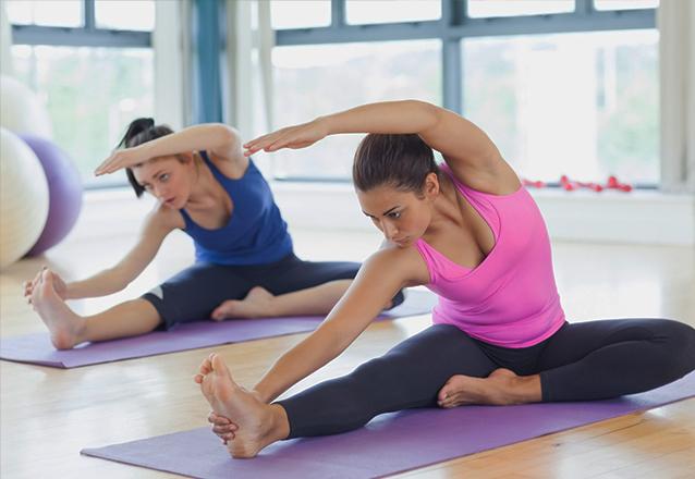1 mês de Pilates com 1 aula por semana por apenas R$135,90