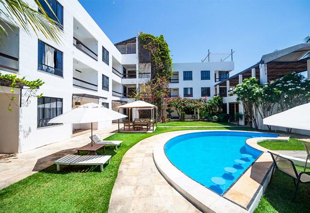 Relaxe em Flecheiras! 2 Diárias para 2 Adultos e 1 Criança de até 6 anos + Café da manhã (check-in de domingo a quarta) de R$600 por apenas R$459,90 na Pousada Inn Tribus