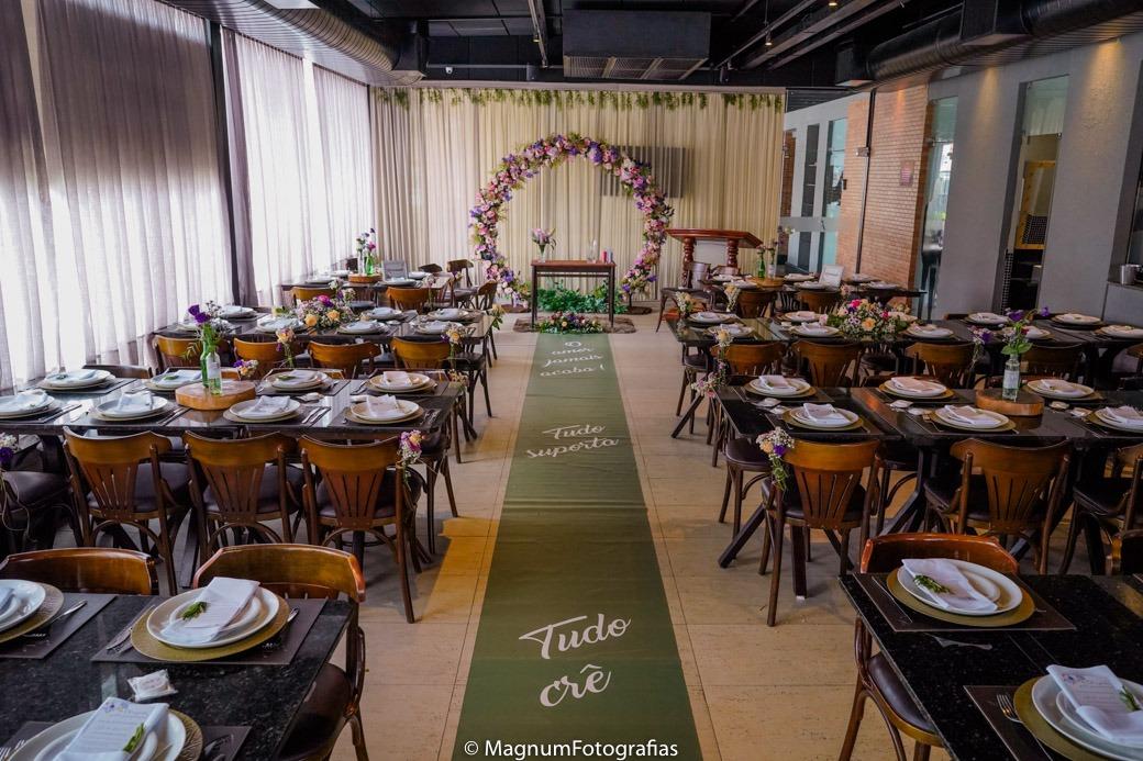 Evento para até 30 pessoas com buffet - Pacote 1 por R$2.343
