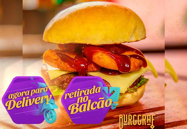 A Burggraf chegou no Barato! Combo com 2 Graf Onion de R$40 por apenas R$29,99. Válido para Delivery!