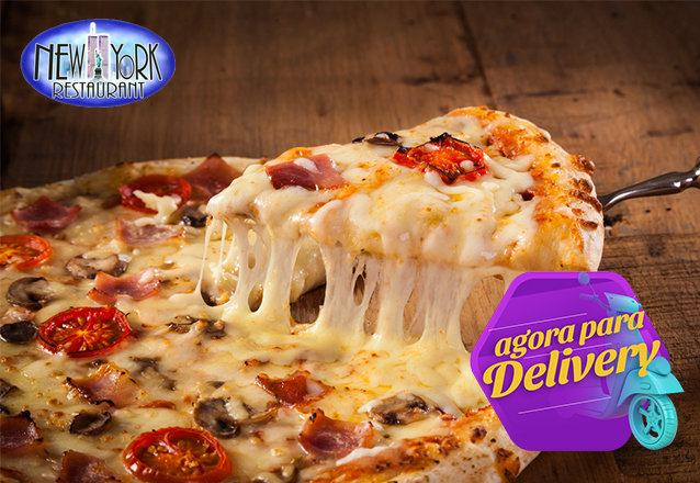 Pizza Grande com 8 Fatias de Marguerita de R$39,90 por apenas R$29,90
