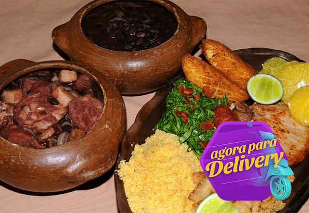 O Almoço de Sábado típico do Brasileiro! Feijoada completa e 2 caipirinhas de limão para 2 pessoas de R$71,70 por apenas R$39,90 no Colher Mar & Sertão. Válido para Delivery!