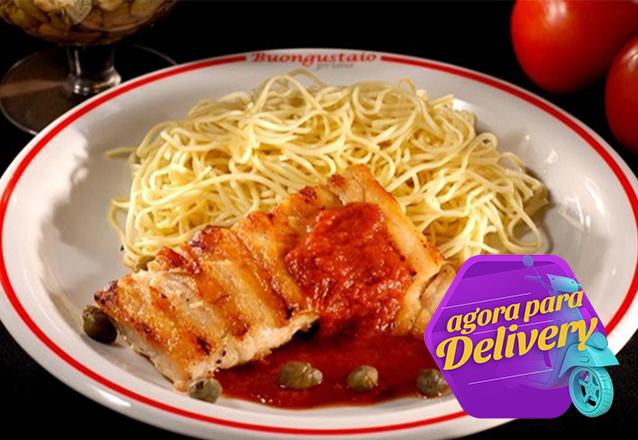 Spaghetti Spaghetti 4 Formaggi ou Al Sugo para 1 pessoa de R$15 por apenas R$12,90