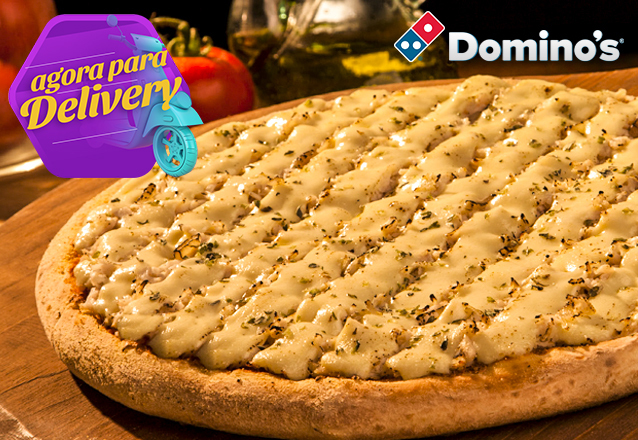 Se você é louco por pizza, você é louco por Domino's! 1 Pizza Grande R$54,90 por apenas R$35. Válido para as lojas Domino's Iguatemi, North Shopping, Edson Queiroz (Buena Vista Mall), Bairro de Fátima e Shopping RioMar Fortaleza. Válido para todos os dias,
