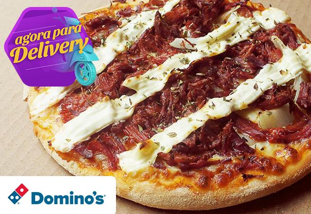 Do tamanho da sua fome! 1 Pizza Brotinho de R$18,90 por apenas R$9,90. Válido para as lojas Domino's Iguatemi, North Shopping, Edson Queiroz (Buena Vista Mall), Bairro de Fátima e Shopping RioMar Fortaleza. Válido para todos os dias, com Delivery!