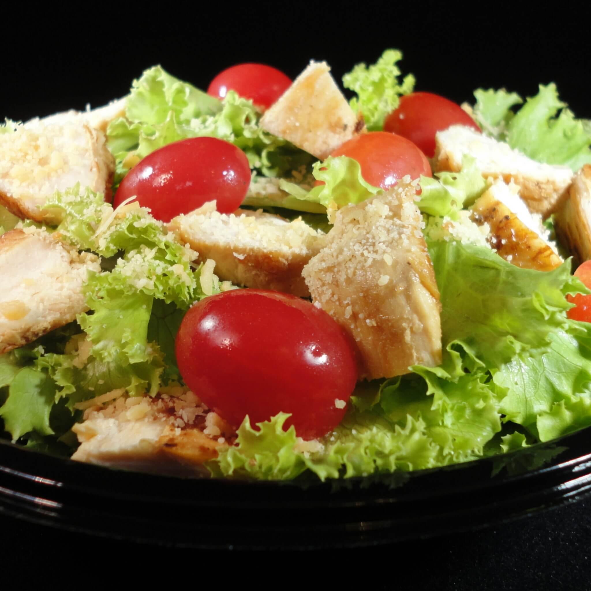 Salada Caesar Petit (meia porção 300g) de R$19,90 por apenas R$15,90