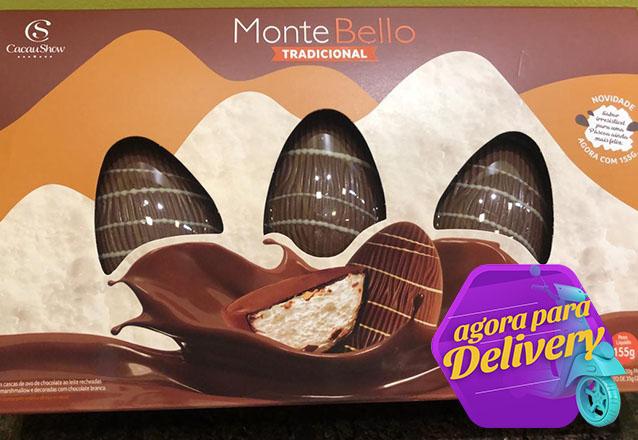 Oferta Exclusiva Cacau Show! 2 Caixas do Ovo de Páscoa Monte Bello de R$59,80 por apenas R$29,90. Válido para Delivery!