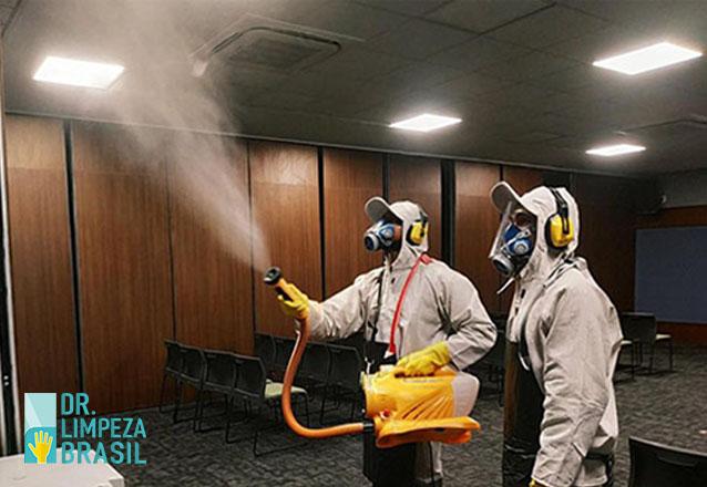 Sanitização de ambiente com até 150m² por apenas R$150
