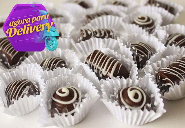 50 chocolates crocantes por apenas R$29,90
