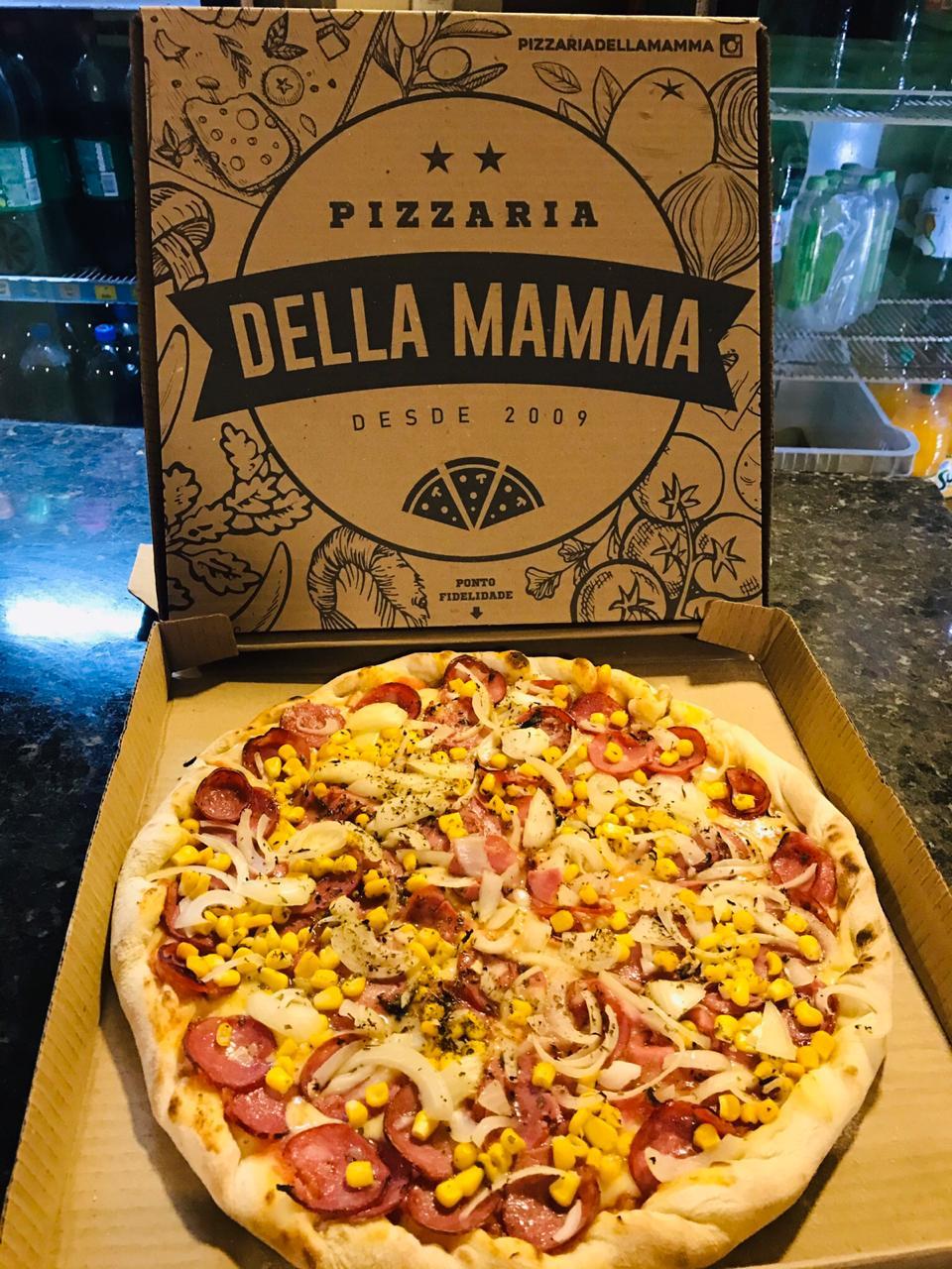SEGUNDA À QUINTA: Pizza com Borda recheada (Sabores: Baiana, Calabresa, Marguerita, Milho, Mista, Mussarela e Portuguesa) por apenas R$21,99