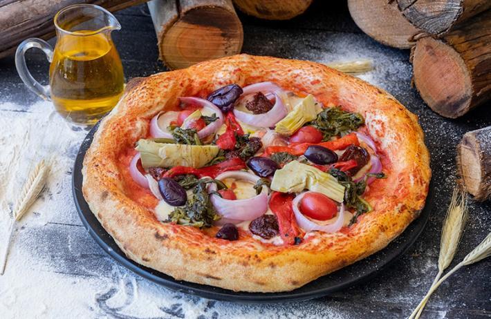 1 Pizza Grande (35cm) da linha Tradicional de R$59,90 por apenas R$39,70