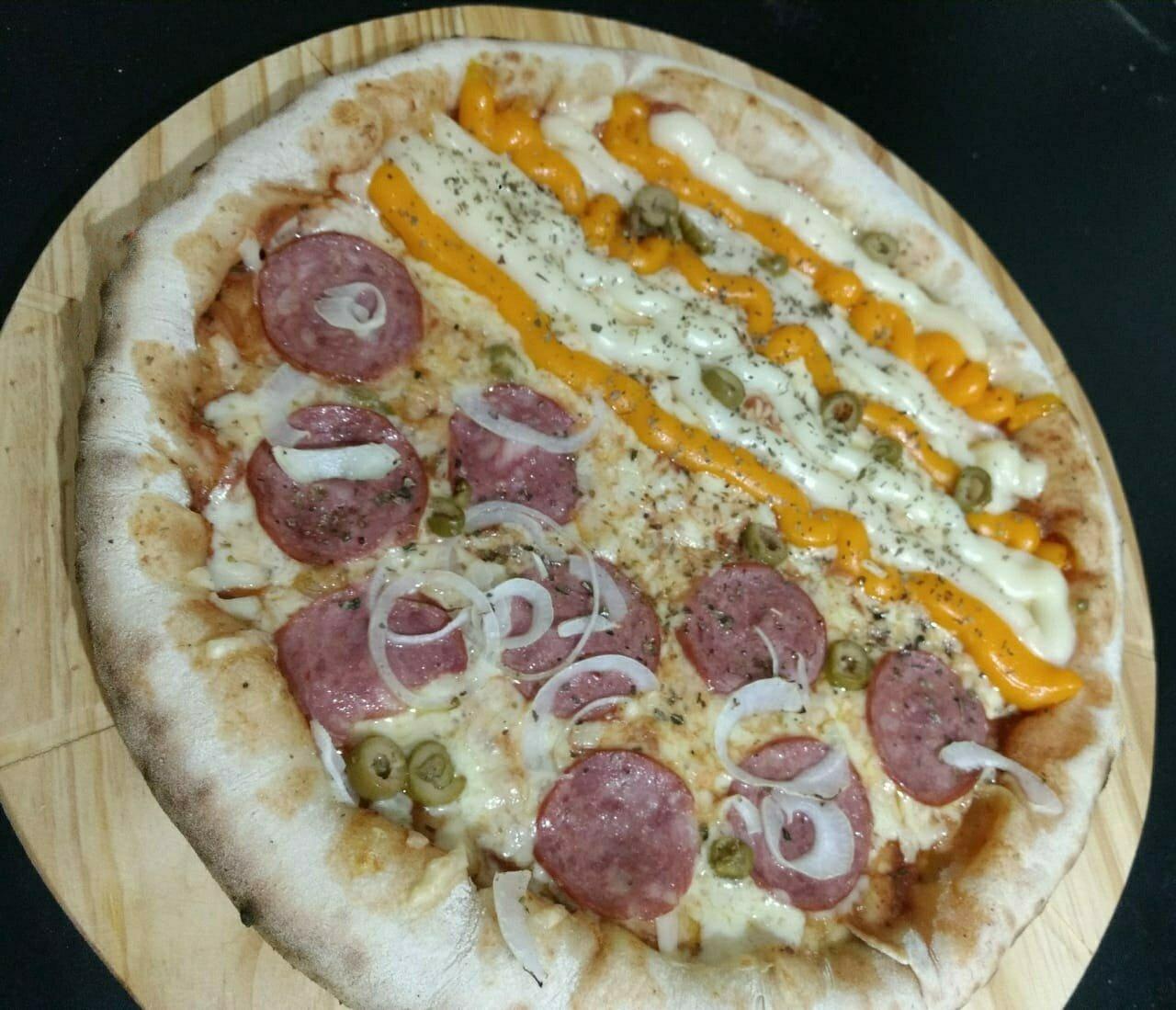 Pizza Grande da linha Tradicional por apenas R$17,90