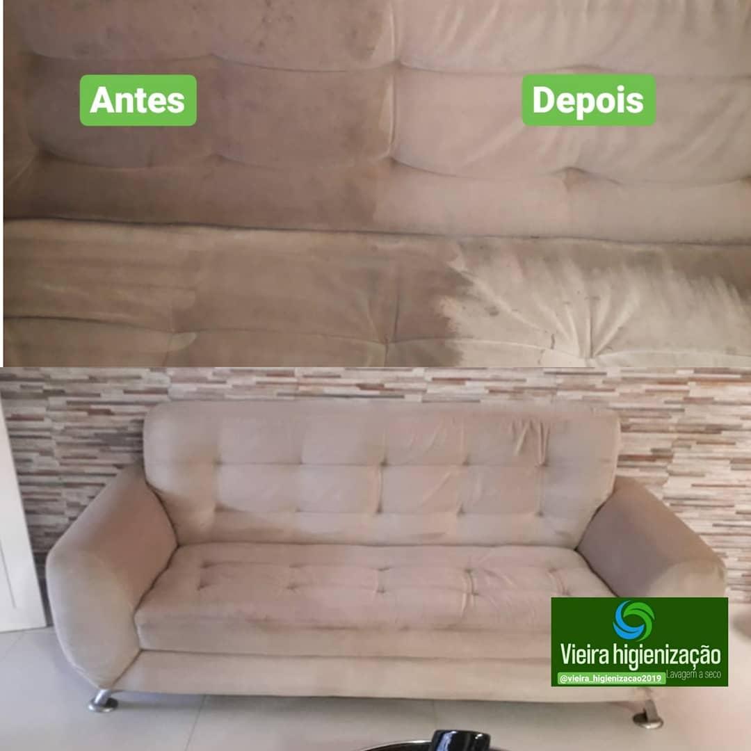 Lavagem de sofá até 3 lugares ou Conjunto de até 2 poltronas ou Cama Box/Colchão solteiro ou Tapete até 2 m² ou Conjunto de 2 puffs ou Colchão berço de criança de R$80 por apenas R$39,90