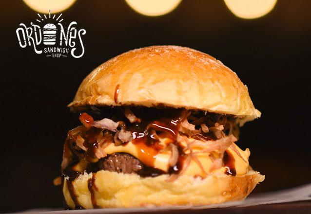 Ordones Steak & Burger no Barato! 1 Crispy Burger, C&O Burger ou Club Sandwich de até R$23 por apenas R$15,99. Válido apenas para loja VARJOTA!