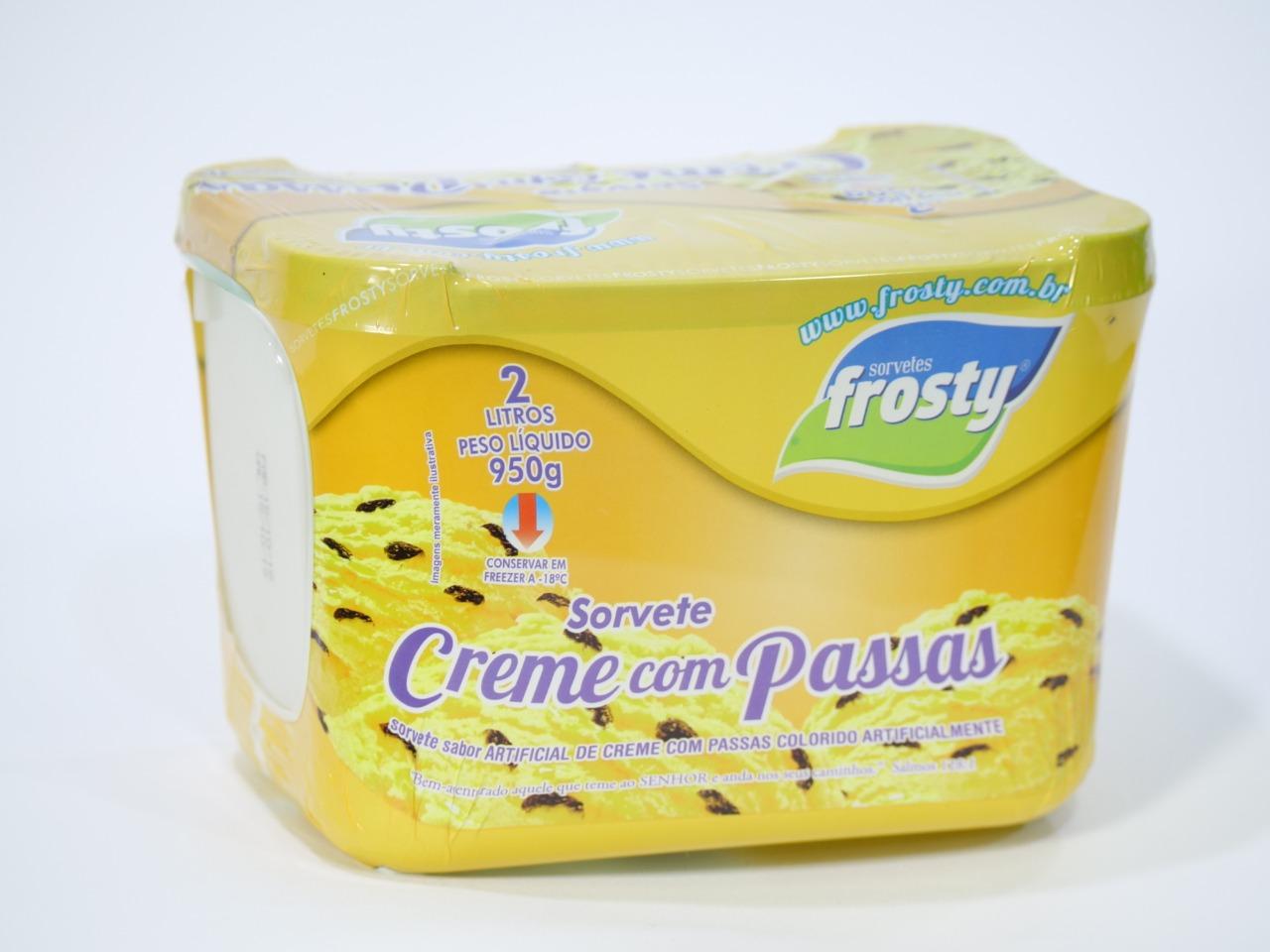1 Pote de Sorvete Frosty 2L de R$12,90 por R$9,99