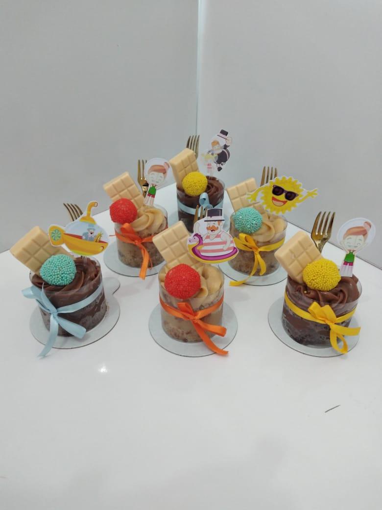 Para toda festa! 10 mini Naked Cakes de R$90 por apenas R$79,90 na Boutique do Chocolate