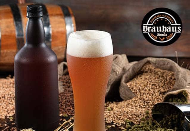 1 Cerveja Artesanal Pilsen 1L de R$24 por R$16,90