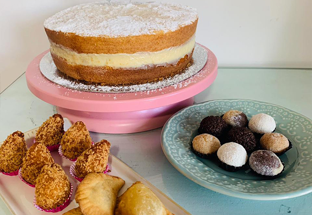 Torta Ninho ou Torta Dupla (Ninho + Chocolate) de R$70 por apenas R$54,90