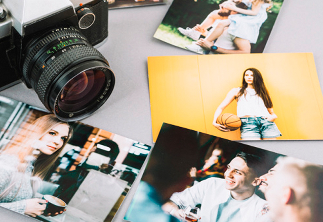 Impressão de 50 fotos (10x15) de R$44,50 por R$24,90
