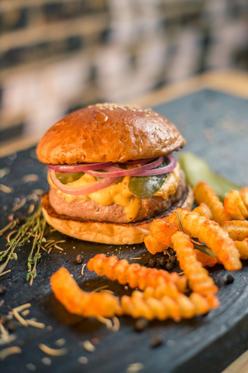 Sanduíches é no El Chancho - Burguer Falafel de R$21 por apenas R$17,90