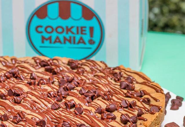 Sabor Único e Irresistível é na Cookie Mania! Torta Cookie tamanho G para até 30 pessoas de R$105 por apenas R$79,90