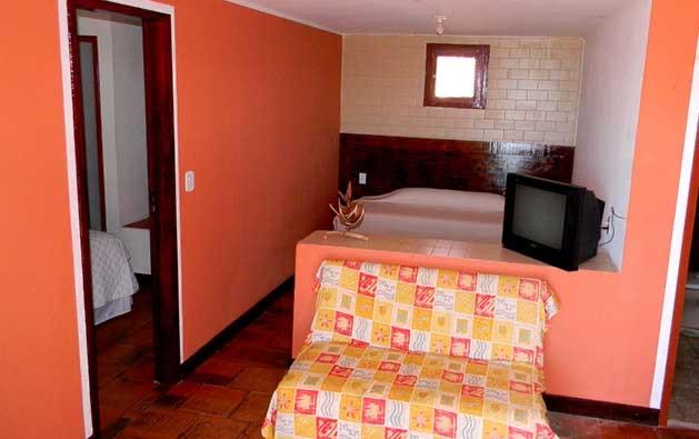 2 diárias para 2 pessoas em apartamento com check in de domingo a quarta por apenas R$249,90