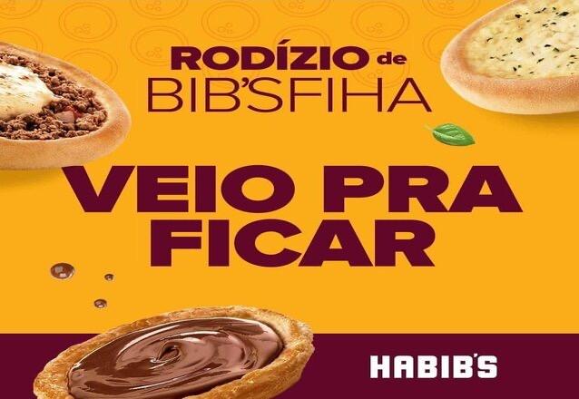 Suuuuper Rodízio Habibs da melhor esfiha do Brasil! Rodízio de esfihas por apenas R$21,90.