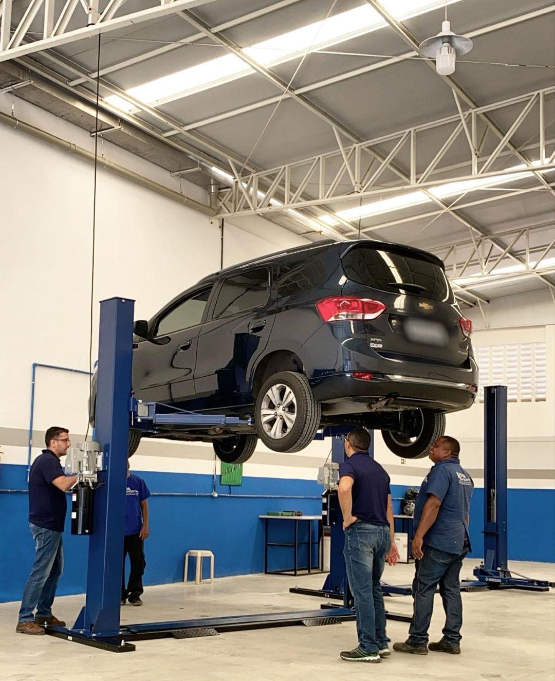 Alinhamento + Balanceamento de carro pequeno de R$60 por R$29,90