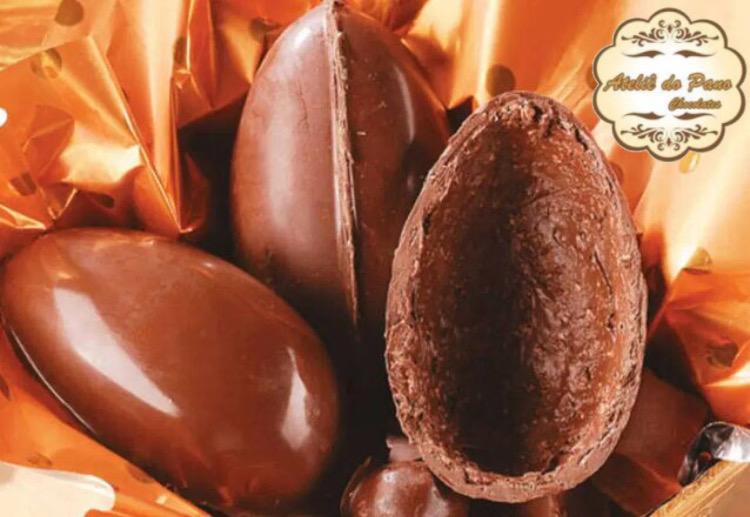 Ovo de 100g + Brinde: 01 ovinho de chocolate de R$11,90 por apenas R$6,90