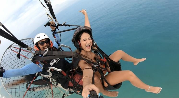 A segunda melhor opção em atividades ao Ar Livre segundo o Portal Tripadvisor! Voo Duplo de Instrução + (Fotos e Videos) por apenas R$169,90 com Bora Voar ?