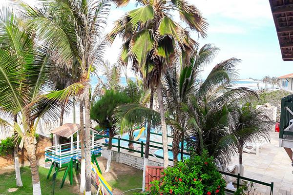O Hotel perfeito te espera na Praia!! 2 diárias em Suíte Standard com check-in livre para 2 adultos e 1 criança de até 10 anos + café da manhã por apenas R$339
