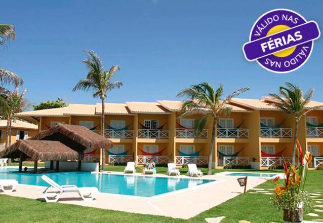 O paraíso na Praia das Fontes: Bouganville Hotel! 2 Diárias (Sexta a Domingo) para 2 pessoas + Café da Manhã por apenas R$519,90 no Bouganville Hotel