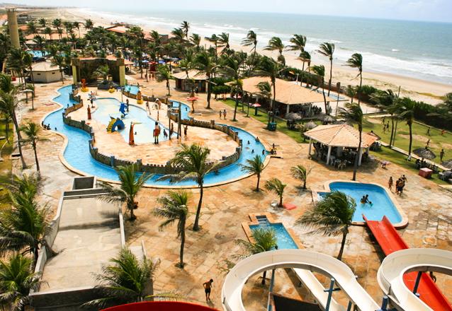 Vem curtir o Ytacaranha Park com o Barato! 1 Ingresso Adulto + 1 Criança até 6 anos para o Parque Aquático de R$120 por apenas R$39,90