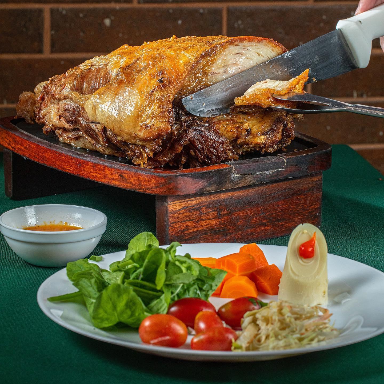 01 rodízio completo + 01 sobremesa para o jantar (domingo a sexta) de R$65,80 por apenas R$54,90