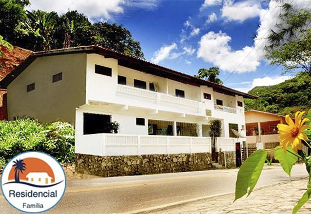2 Diárias para 2 adultos e 1 criança de até 07 anos em apartamento com 02 quartos, sala, cozinha e varanda de R$400 por apenas R$279,90