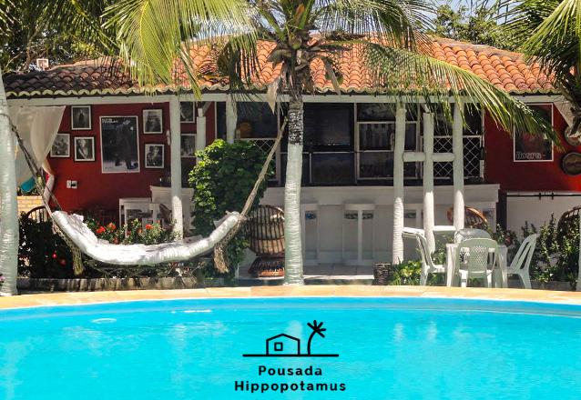 O Melhor lugar para ficar em Jericoacoara! 2 Diárias para 2 adultos e 1 criança de até 5 anos + café da manhã de R$500 por apenas R$360 na Hippopotamus Jeri Pousada