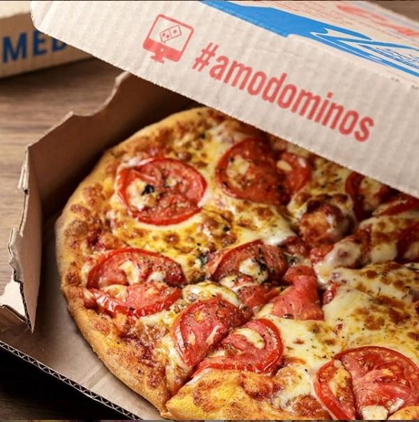 Essa você não pode perder! Pizza grande de R$81,90 por apenas R$43,90 na Domino's Aldeota. Aproveite!