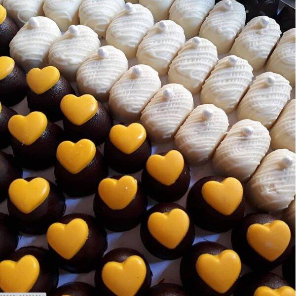 100 chocolates finos de R$90 por apenas R$79