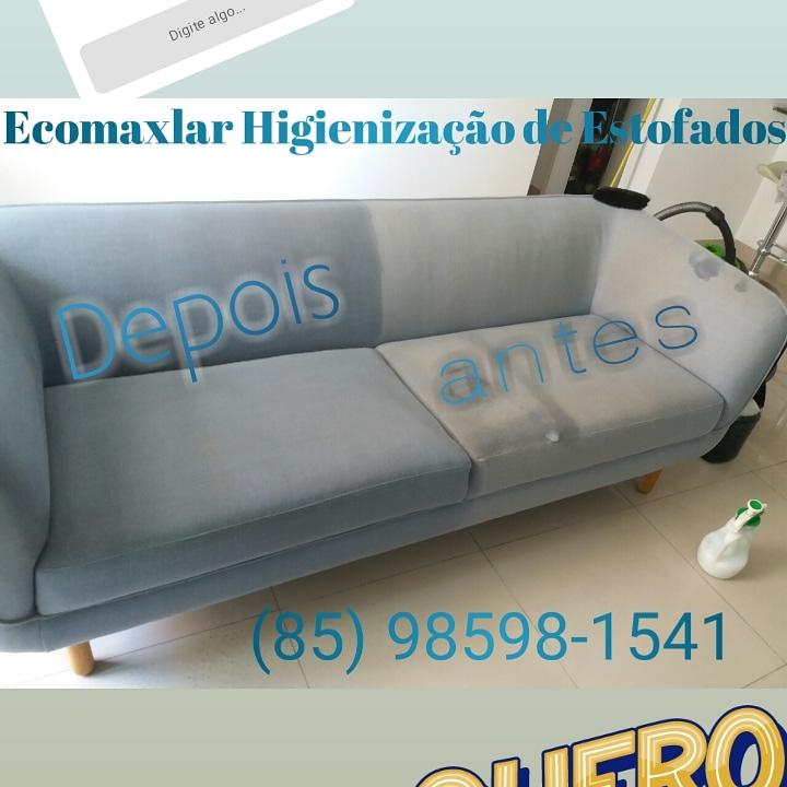 Lavagem de sofá até 5 lugares (tamanho padrão) ou Cama box solteiro ou colchão casal ou Conjunto de mesa até 6 Cadeiras de R$150 por apenas R$39,90
